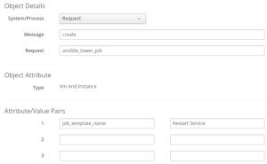 provide job tempate name
