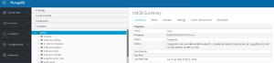 Verify external database configuration