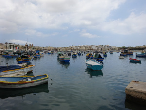 Marsaxlokk Harbor View