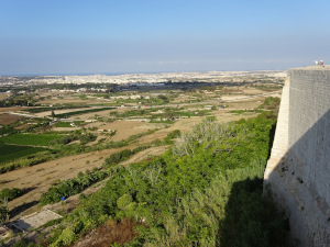 View from Mdina City Wall
