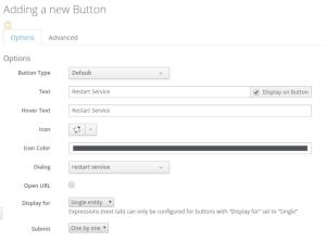 custom button options