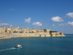 Valletta view from Gardjola Gardens